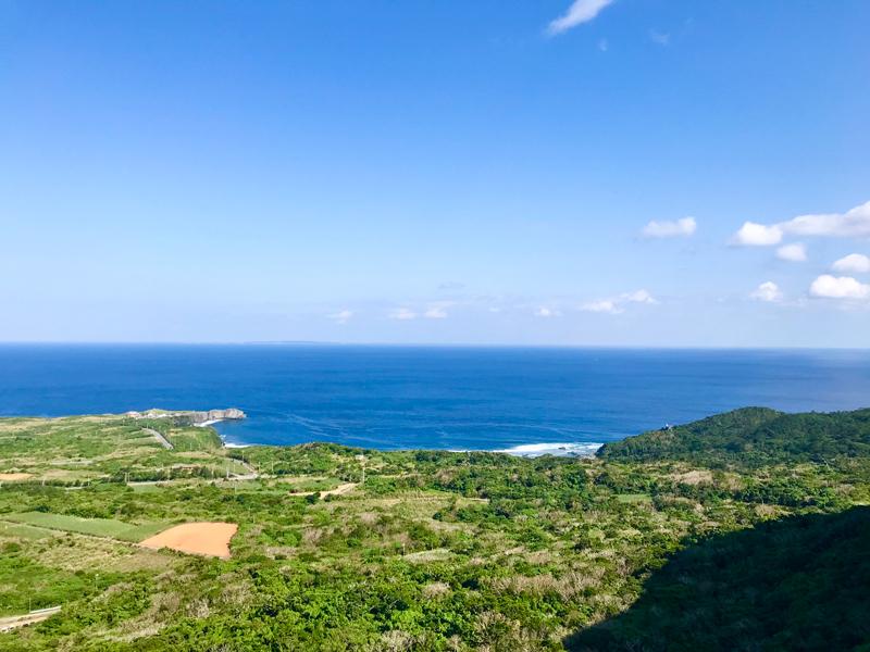晴れの日の「やんばる国立公園 大石林山」からの眺め