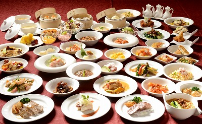 "Chinese order buffet special guidance of plan ""Chinese four major dishes fair"""