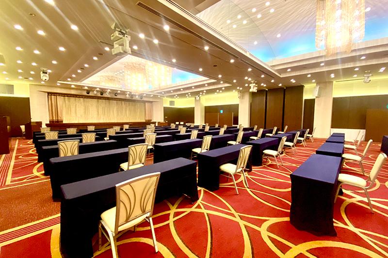 宴会場における新型コロナウイルス感染拡大防止の取り組み