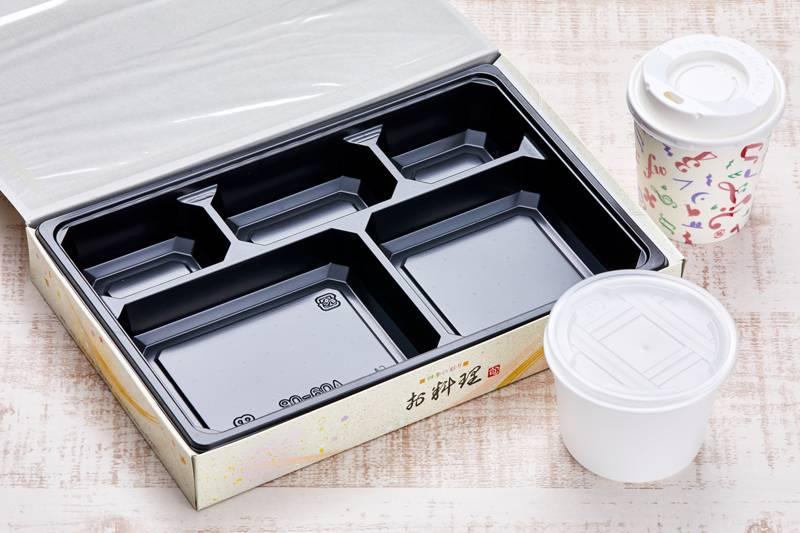 テイクアウトランチBOX ¥972(税込)