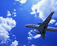 Plan with companies airline ticket