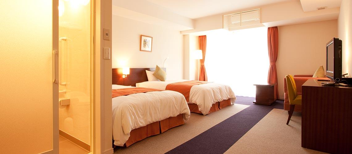 通用的雙床房